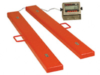 Low profile beam scales 2000kg capacity