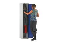 Browns personnel steel locker with single door